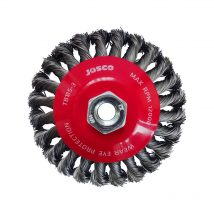 Josco 115mm Multi-Thread Twistknot Bevel Brush